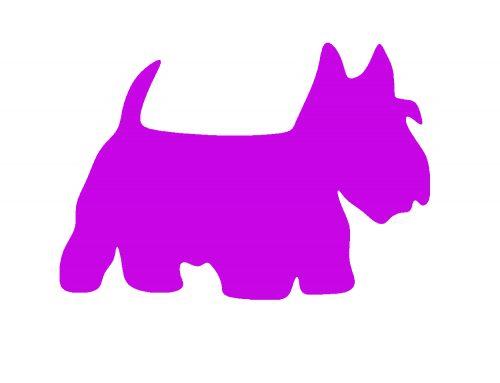 Paarse honden